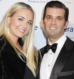 Donald Trump Jr and wife Donald Trump Family, Donald And Melania Trump, Donald Trump Jr, Trump Love, John Trump, American Presidents, Us Presidents, Marla Maples, America
