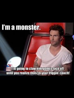 The Voice...I LOVE THIS SHOW!  Especially since Usher and Shakira came on.  And come on...who doesn't love Adam Levine?!