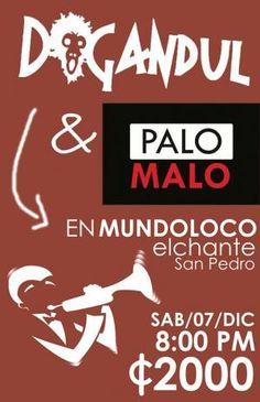 Dogandul y Palo Malo en el Chante. http://www.desktopcostarica.com/eventos/2013/dogandul-y-palo-malo-en-el-chante #CostaRica