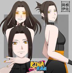 Naruto Sharingan, Naruto Shippudden, Naruto Girls, Blue Anime, Anime Oc, Kawaii Anime, Naruto Clans, Anime Warrior Girl, Oc Manga