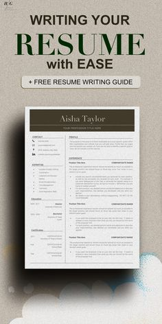 That is why we created an office manager resume, college resume, Nurse Resume, Teacher resume, or your first resume template to ace your Job hunting. This Templates Include RESUME WRITING TIPS or RESUME GUIDE with how to write your cover letter as well. These include matching cover letter templates and Reference sheet template. Office Manager Resume, Rn Resume, College Resume, Business Resume, Nursing Resume, Cover Letter Template, Letter Templates, Resume Templates, Professional Resume Examples