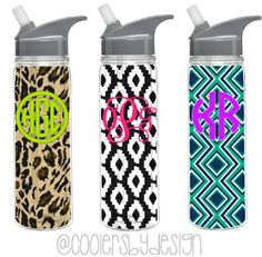 Patterned Water Bottle. Because you cant ever have too many!