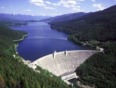 Hungry Horse Dam - Hungry Horse, Montana
