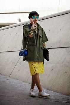 On the street… Seoul fashion week 2015 F/W ~ echeveau