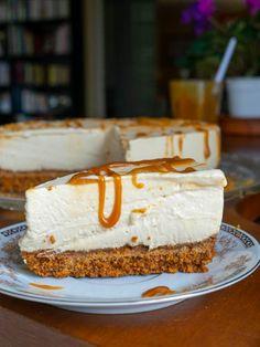 Cheesecake Caramel, Cheesecake Mascarpone, Cheesecakes, Sweet Recipes, Sweets, Snacks, Meals, Cookies, Food