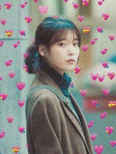IU Aesthetic Kimbap, China, Aesthetic Girl, Bts Wallpaper, Bb, Aesthetics, Dreadlocks, Cheese, Hair Styles