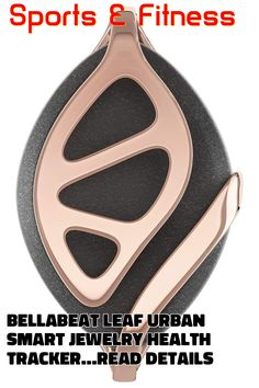 Bellabeat Leaf Urban Smart Jewelry Health Tracker ... (This is an affiliate link) #fitnessaccessories