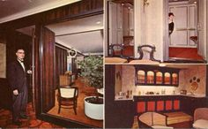 Visit the post for more. Palmer House, Hotel Motel, Liquor Cabinet, Interiors, 1960s, Furniture, Home Decor, Style, Swag