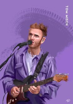 Tom Misch - 'UKs Finest' - Exclusive Print Tom Misch, Post Malone, Spongebob Squarepants, Marketing And Advertising, Toms, Artists, Trending Outfits, Music, Movie Posters
