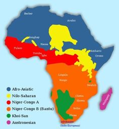 Did you know there were more than six major languages spoken in Africa? Do you speak any of these?