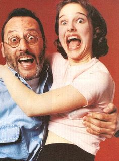 Jean Reno and Natalie Portman  from ThisIsNotPorn.net - Rare and beautiful celebrity photos