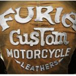 """20 Likes, 1 Comments - Furia Custom Motorcycle (@furiacustom) on Instagram: """"Motorcycle leather jacket. Design's in the style of PREDATORS. A full set of security features -…"""""""