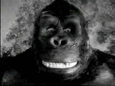 When Kong smiles