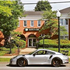 Silver GT3 RS!