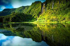 Ilha das Flores, Açores.