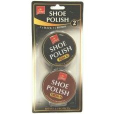 2 Pack Black and Brown Shoe Polish2 Pack Extra Comfort Insoles #Wholesale #ShoeCare #Jump
