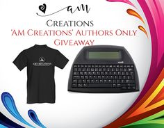'AM Creations' Authors Only Giveaway