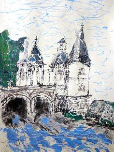 Autre vue par AVA du pont Henri IV....CHATELLERAULT
