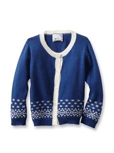65% OFF Portolano Baby Cardigan (Happy Blue/White) #apparel #Kids