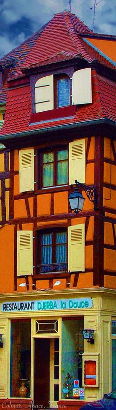Restaurant Djerba La Douce, Colmar Alsace, FRANCE