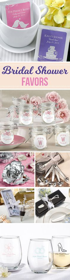 47 Bridal Shower Favors your guests will actually want (and use!) Ranging from the cute, to modern, to practical.