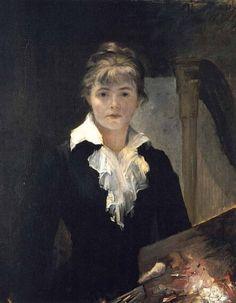 Marie Bashkirtseff (peintre d'origine ukrainienne qui vécut et mourut à Paris 1858-1884) Autoportrait 1880