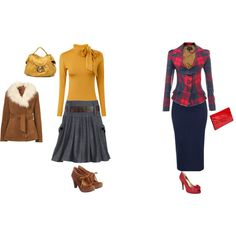 Fall Workday, created by thetrendyhomemaker.polyvore.com