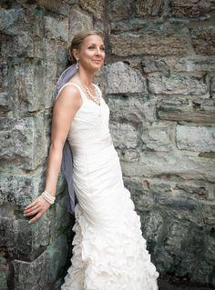 Fancy Simple Wedding Dress for Older Brides Over Elegant