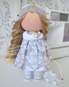 Art doll Interior doll Handmade doll Love by AnnKirillartPlace