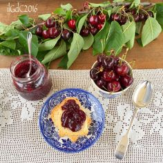 il giardino dei ciliegi: Confettura di ciliegie a modo mio