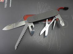 Titanium Swiss Army Knife Victorinox Alox Pioneer Farmer | custom MOD