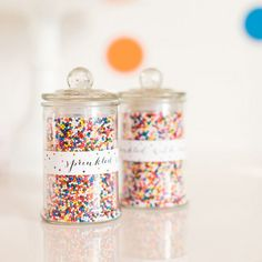 Mini Candy Jar + Glass Lid at The TomKat Studio