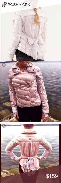 lululemon pedal power jacket pink 4 absolutely gorgeous jacket.. lululemon athletica Jackets & Coats Puffers