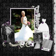 Wedding, digital layout by nun69