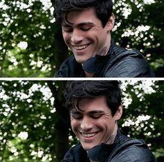 OMG HE IS SO CUTE! LOOK AT HIS LAUGH LINES OMG