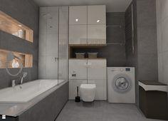 Miejsce gospodarcze w łazience za sedesem