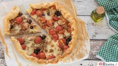 Quiche, Savory Tart, Coconut Shrimp, Antipasto, Cauliflower Rice, Vegetable Pizza, Italian Recipes, Food And Drink, Cooking Recipes