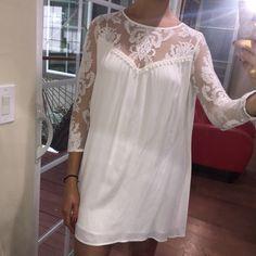 Price drop TonightFor Love and Lemons dress Baby Doll style For Love and Lemons dress. NWT. Never worn. For Love and Lemons Dresses Mini