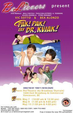 Pak! Pak! My Dr. Kwak!  #Films, #Online, #Philippines