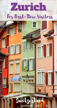 Things to do and see in 2 days in Zurich. Switzerland. Old Town. Europe. What to join Zurich.