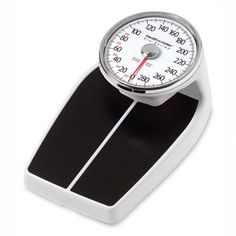 Health O Meter Large Raised Dial Scale, Black - HHM160LB