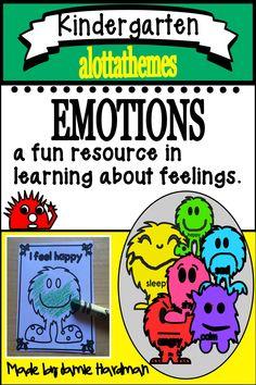 Emotions and Feelings activities Emotions Activities, Language Activities, Reading Activities, Fun Activities, Early Childhood Activities, Kindergarten Activities, Preschool Crafts, School Social Work, Classroom Community