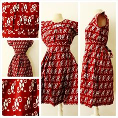fashion, batik dress, authentique batik, woman clothing, clothing, vintage, dresses, summer dress, tribal dress, batik print dress, by AimeeBudaya on Etsy