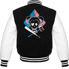 Suicide Squad - Harley Quinn Icon Official Varsity Jacket (Large)