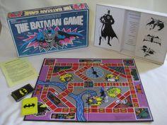 Vintage 1989 Batman Board Game by VintageByThePound on Etsy, $20.00