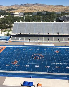 It's almost time for B on the Blue! #boisestate #broncowelcome