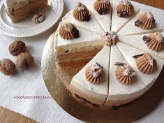 Ořechovo-karamelový dort s hruškami - Víkendové pečení Cheesecake, Cooking Recipes, Pie, Pudding, Cupcakes, Food, Torte, Cake, Cupcake Cakes
