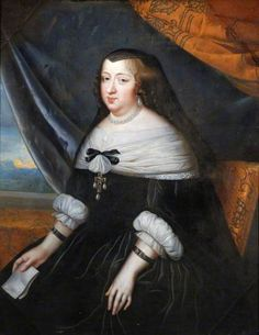 Anne of Austria, Queen of France (1601-1666), mid 17th century by Charles Beaubrun