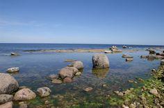 Keien en stenen plateaus in het noorden van Öland.