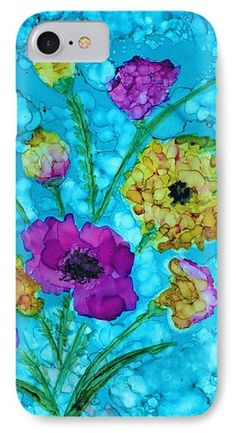 Delicate Blossoms Phone Case by Christine Crawford